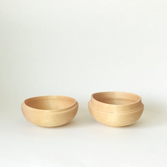 BIRCH WOODEN BOWL