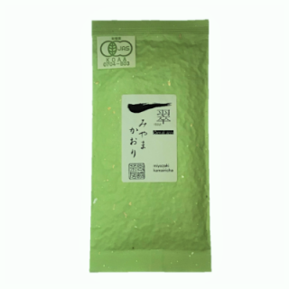 有機釜炒り茶【機械摘み】みやまかおり100g