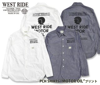 【WESTRIDE/ウエストライド】長袖シャツ/PCH SHIRTS