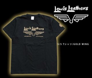 【Lewis Leathers/ルイスレザーズ】Tシャツ/GOLD WING Tee