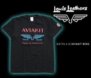 【Lewis Leathers/ルイスレザーズ】Tシャツ/ AVIAKIT WING Tee