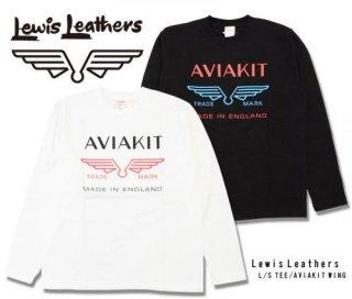 【Lewis Leathers/ルイスレザーズ】ロングスリーブTシャツ / AVIAKIT WING