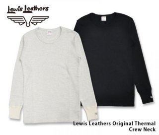 【Lewis Leathers/ルイスレザーズ】オリジナルサーマル/クルーネック  Original Thermal Crew Neck