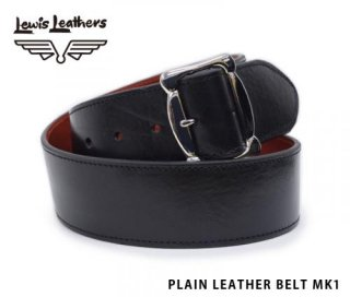 【Lewis Leathers/ルイスレザーズ】レザーベルト /PLAIN LEATHER BELT MK1