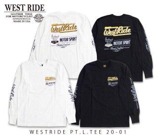 【WEST RIDE/ウエストライド】ロングスリーブTシャツ/PT.L.TEE 20-01