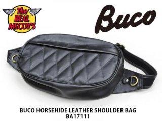 【THE REAL McCOY'S /リアルマッコイズ】BUCO HORSEHIDE LEATHER SHOULDER BAG / BA17111