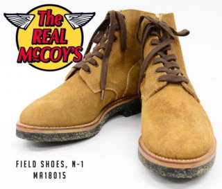 【THE REAL McCOY'S】FIELD SHOES, N-1 MA18015