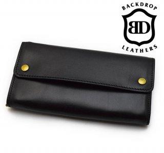 【BACKDROP Leathers / バックドロップ・レザーズ】ウォレット/LONG BILL WALLET (Long)