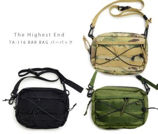 【THE HIGHEST END ザ ハイエストエンド】バーバッグ / TA-116