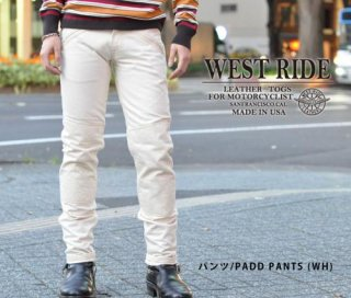 【WESTRIDE/ウエストライド】パンツ/WR1109 PADD MOTO PANTS (NTL)