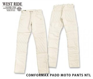 【WESTRIDE/ウエストライド】防寒パンツ/COMFORMAX PADD MOTO PANTS NTL
