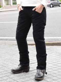 【WESTRIDE/ウエストライド】防寒パンツ/COMFORMAX PADD MOTO PANTS BLACK