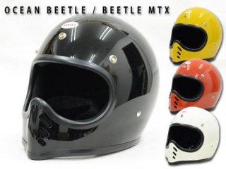 【OCEAN BEETLEオーシャンビートル】ヘルメット/BEETLE MTX MOTO STYLE HELMET★送料サービス対象外