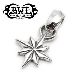 【Bill Wall Leather/ビルウォールレザー】ペンダント/PN867:Hide Star Pendant