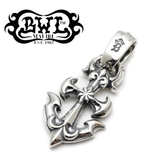 【Bill Wall Leather/ビルウォールレザー】ペンダント/PN891:Large Anchor Pendant
