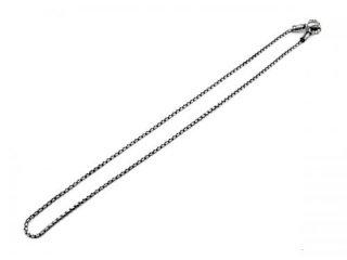 【LONE ONES/ロンワンズ】ネックレスチェーン/MFNH-0002M:Mating Flight Hook/Medium -2.2mm BOX Chain