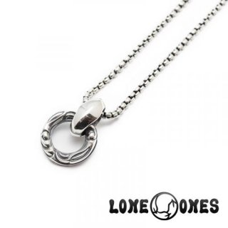 【LONE ONES/ロンワンズ】ペンダント/ MFP-0007-BOX:Crane Ring Venetian Box Chain(M) 18inch (約45cm)