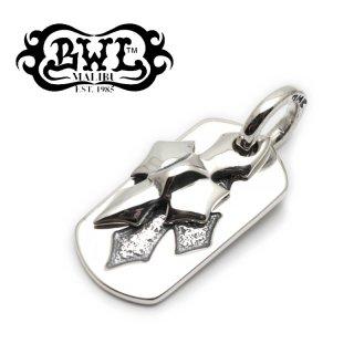 【Bill Wall Leather/ビルウォールレザー】ドッグタグ/DT607:C-Cross Dog Tag