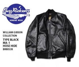 【BUZZ RICKSON'SxWILLIAM GIBSON】レザージャケット/BR80538