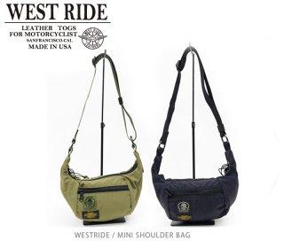 【WESTRIDE/ウエストライド】バッグ / MINI SHOULDER BAG(OLIVE, BLACK)