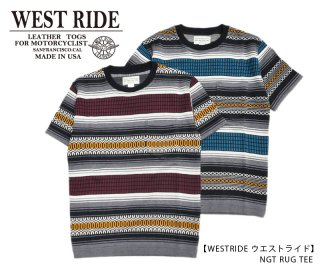 <img class='new_mark_img1' src='https://img.shop-pro.jp/img/new/icons14.gif' style='border:none;display:inline;margin:0px;padding:0px;width:auto;' />【WEST RIDE/ウエストライド】Tシャツ/NGT RUG TEE