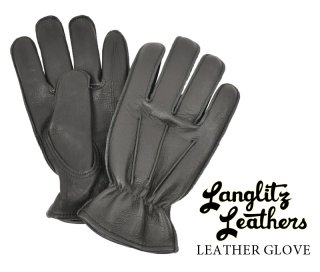 【Langlitz Leathers/ラングリッツレザーズ】レザーグローブ:LEATHER GLOVE