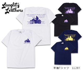 【Langlitz Leathers】Tシャツ/ S/S Tee LL281 --REALDEAL仙台
