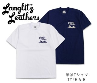 【Langlitz Leathers】Tシャツ/ S/S Tee TYPE A-E --REALDEAL仙台