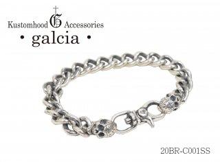 【galcia/ガルシア】ブレスレット/20BRーC001SS
