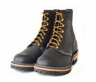 【Wesco/ウエスコ】ブーツ / JOB MASTER:Regular Toe :ブラック 8ハイト #100ソール