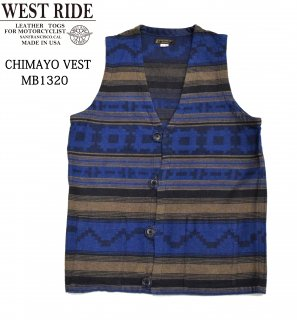 【WESTRIDE/ウエストライド】ベスト/CHIMAYO VEST:MB1320