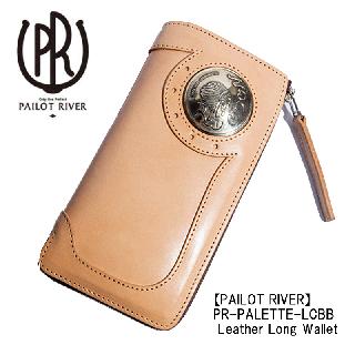 PAILOT RIVER / PR-PALETTE-LCBB Leather Long Wallet