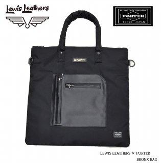 【Lewis Leathers/ルイスレザーズ】×【PORTER/ポーター】バッグ/BRONX BAG