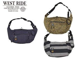 【WEST RIDE/ウエストライド】バッグ/SHOULDER BAG:BLー001
