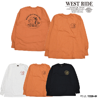 【WESTRIDE/ウエストライド】ロンT/20FW PT.LS.TEE20-04