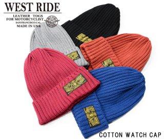 【WESTRIDE】ニットキャップ/COTTON WATCH CAP A