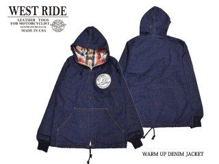 【WESTRIDE/ウエストライド】ジャケット/WARM UP DENIM JACKET