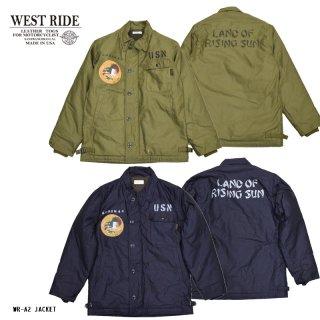 【WESTRIDE/ウエストライド】ジャケット/WR-A2 JACKET:PRINT