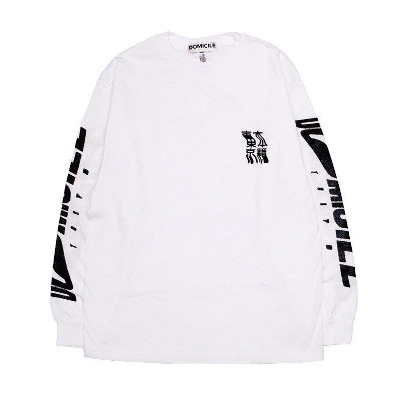 東京本籍 L/S T-SHIRT 【WHITE】