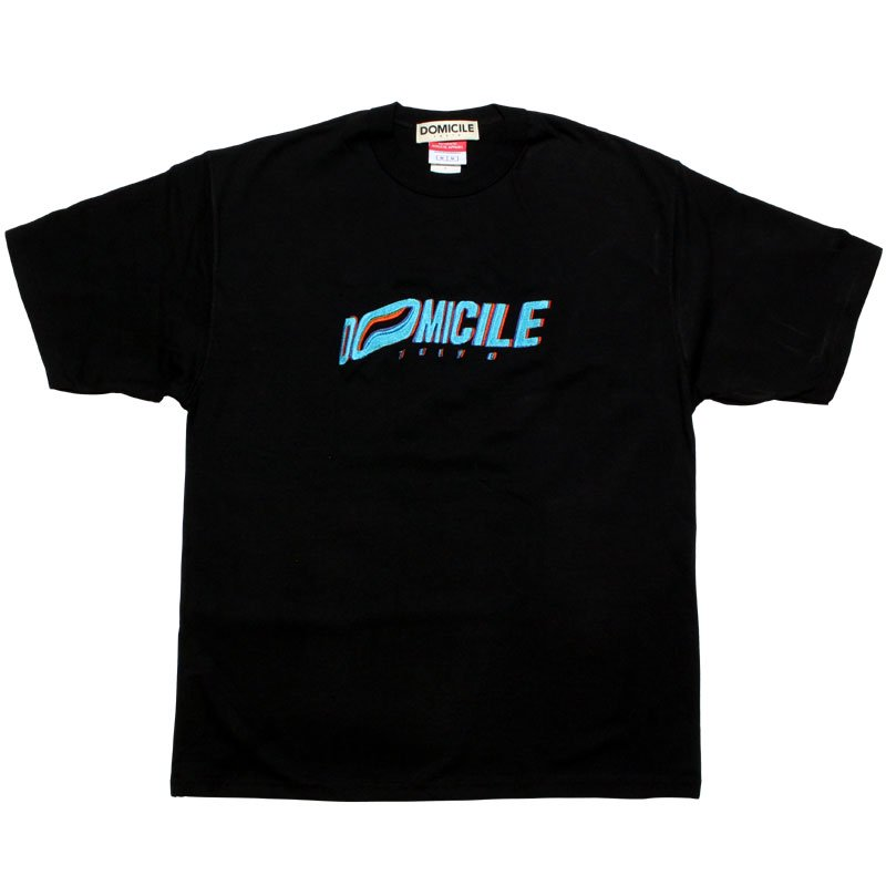 EMBROIDERY TEE 【BLACK】