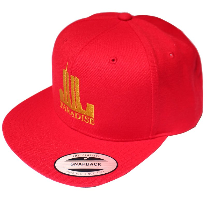 TWIN TOWERS SNAPBACK 【RED】