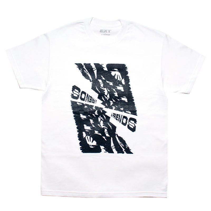 FRIENDS TEE【WHITE】
