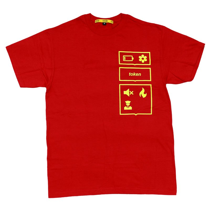 MAINSTREAM TEE 【RED】