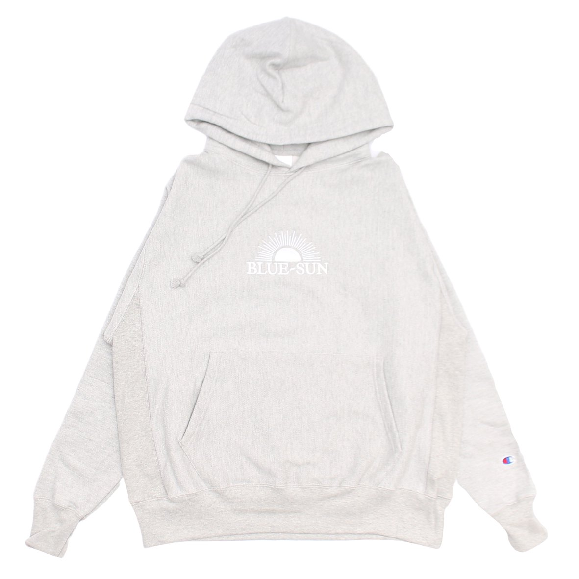LOGO HOODED SWEATSHIRT 【HEATHER GLAY】