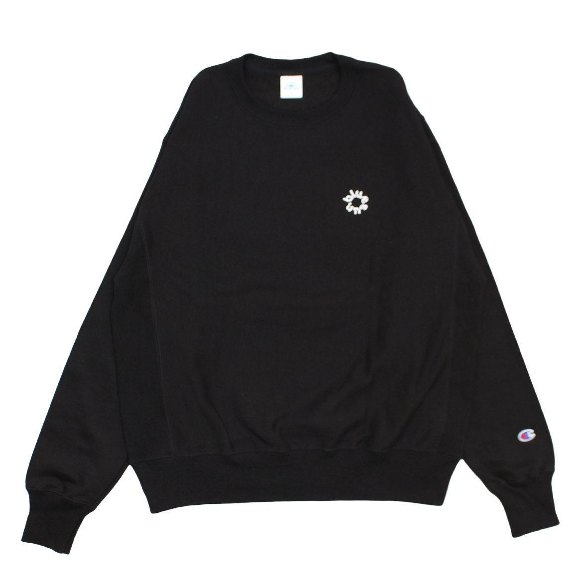 TWIST CREWNECK SWEATSHIRT 【BLACK】
