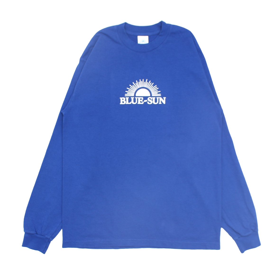 LOGO L/S TEE 【ROYAL】