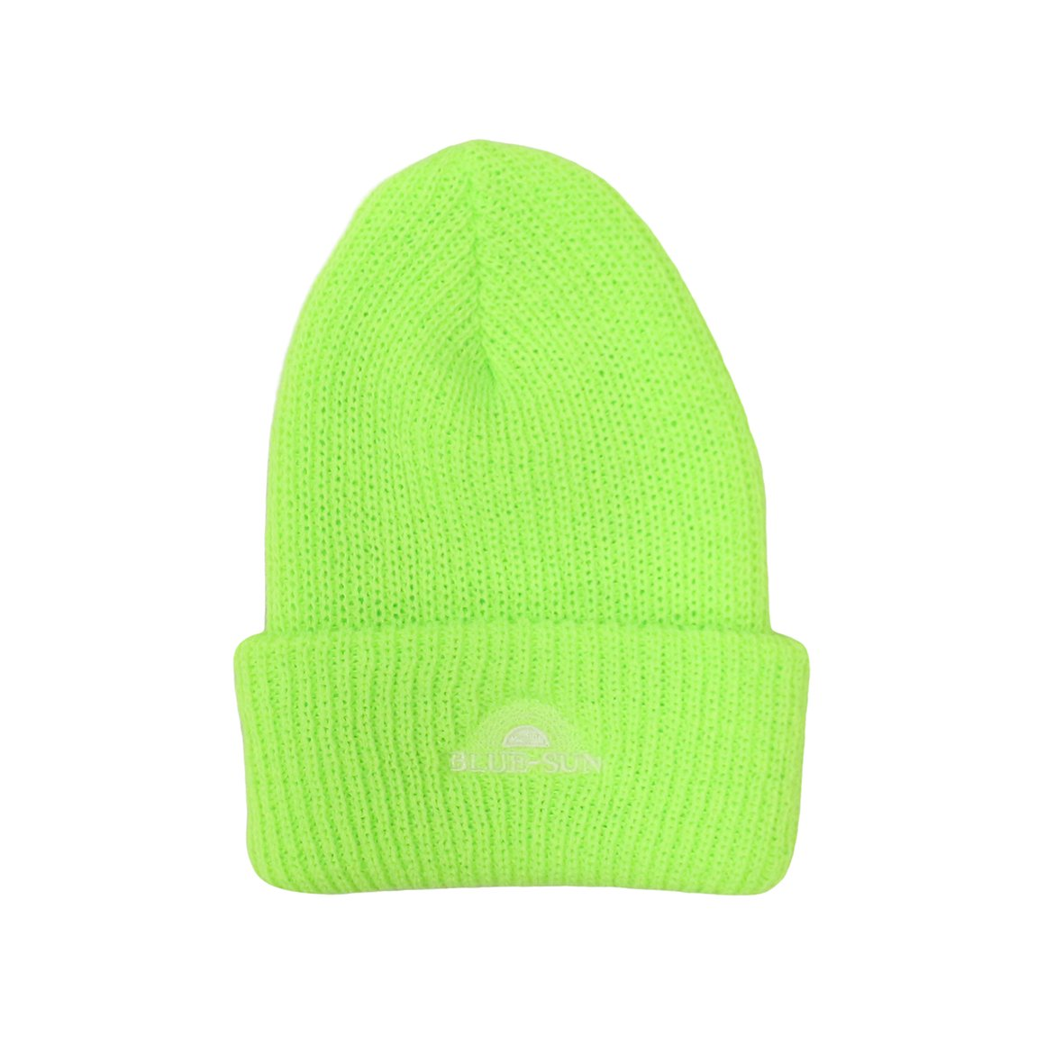 LOOSE GUAGE BEANIE 【BRIGHT LIME】