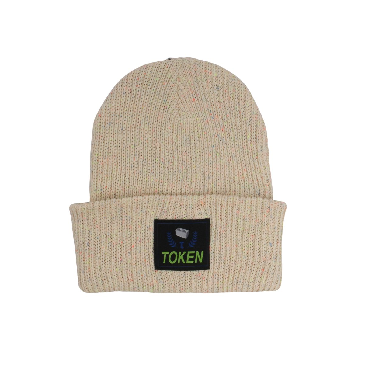 LOGO COTTON BEANIE 【NATURAL】