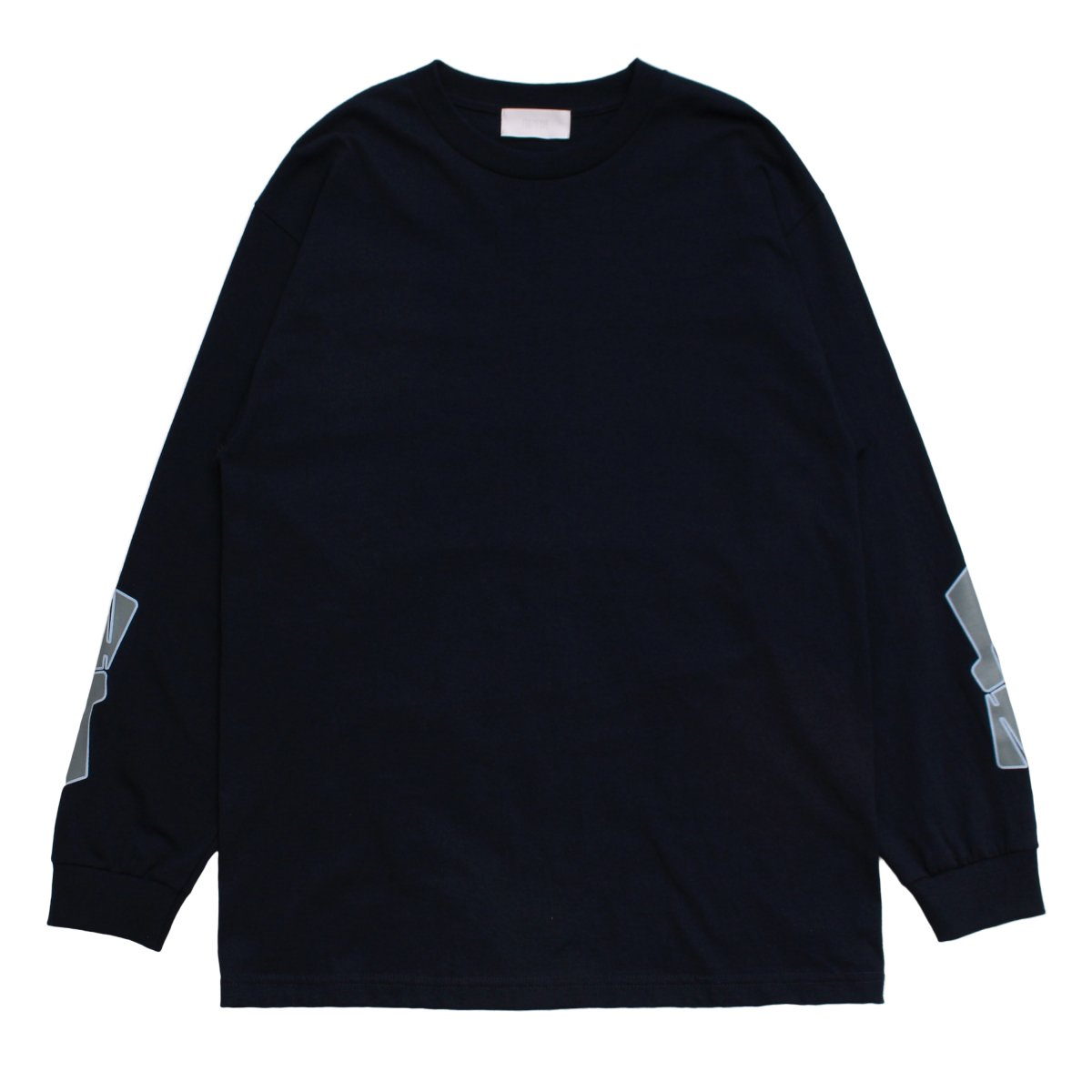 NUMBERRING LOGO L/S TEE 【NAVY】