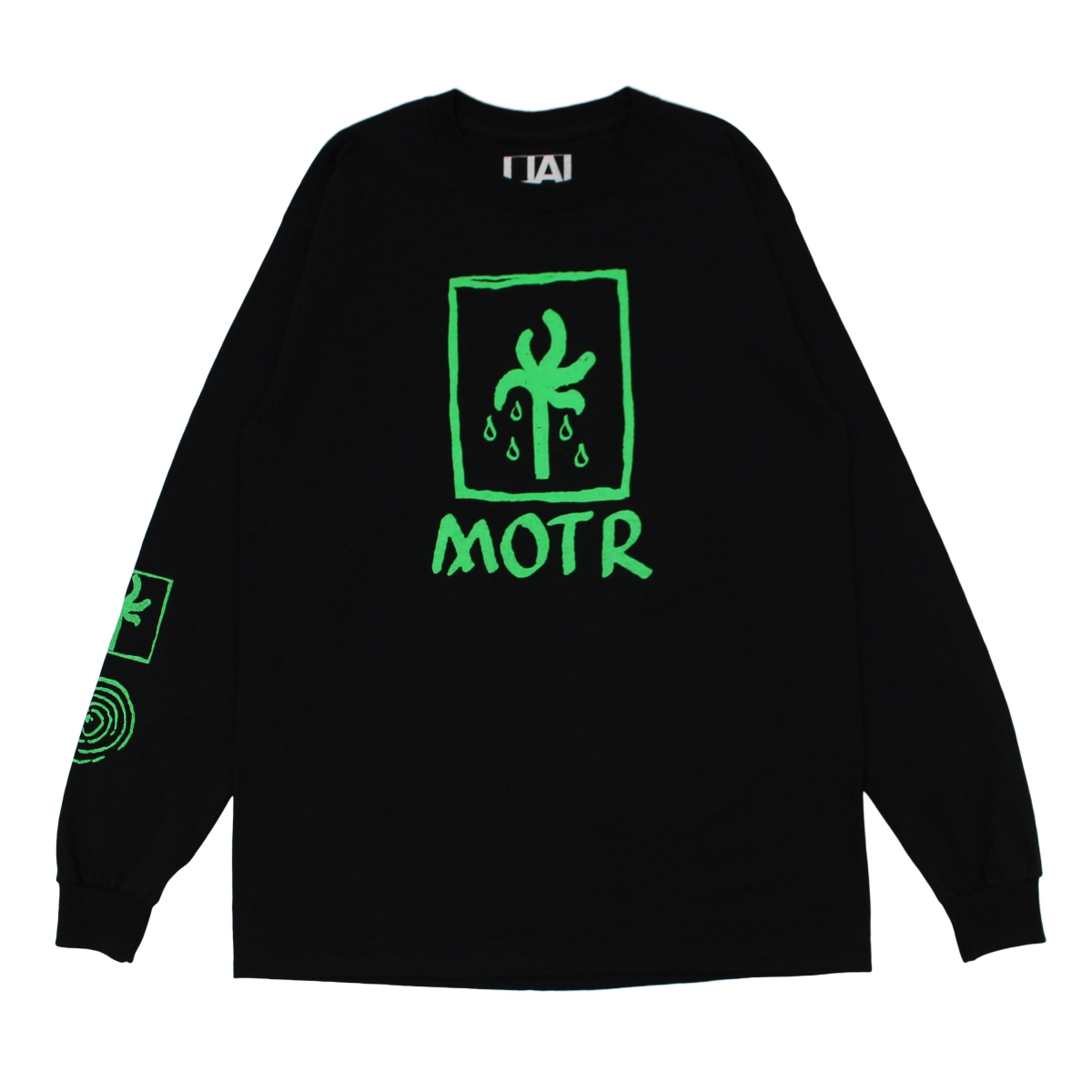 SLOW DANCE × LOCAL ALLIANCE MOTR L/S 【Black×Green】